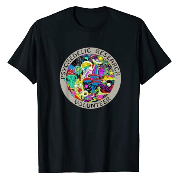 Psychedelic Creation Co. Graphic Tshirt 1 Psychedelic Mushroom Trip Gift - Psychedelic Research Gift T-Shirt