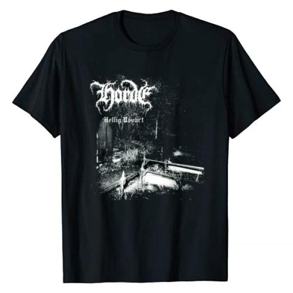 Black Metal Apparel Graphic Tshirt 1 Horde Hellig Usvart Black Metal Christian Unblack T-Shirt