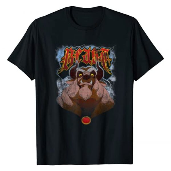 Disney Graphic Tshirt 1 Beauty And The Beast Angry Beast Portrait T-Shirt