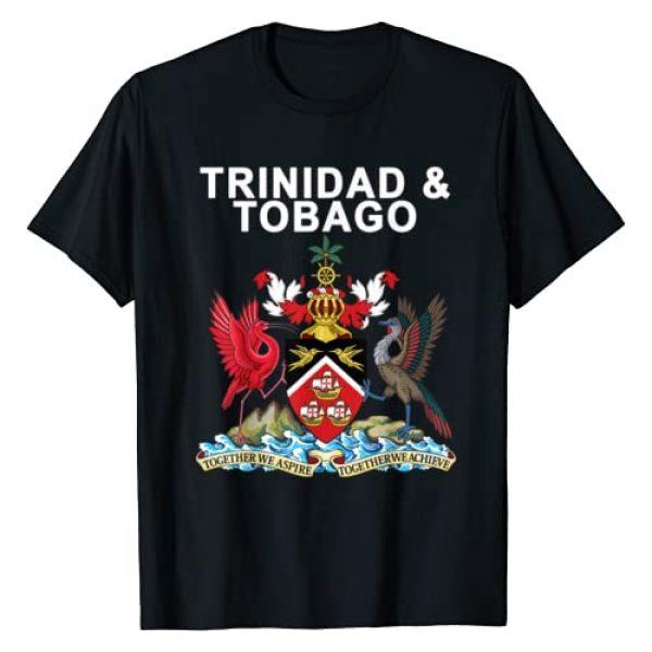 Retro Trinidad and Tobago Apparel Graphic Tshirt 1 Trinidad and Tobago Crest T-shirt