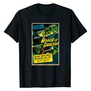 Halloween Vintage Horror Movie Poster Shirt Shop Graphic Tshirt 1 Wolfman Dracula Retro Halloween Monster Poster Horror Movie T-Shirt