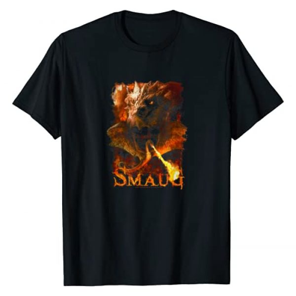 Warner Bros. Graphic Tshirt 1 Hobbit Smaug Smolder T-Shirt