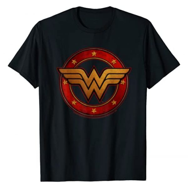 DC Comics Graphic Tshirt 1 DC Fandome Wonder Woman Metal Logo T-Shirt