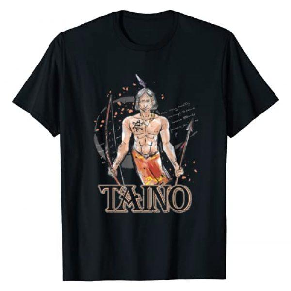 Taino Art Graphic Tshirt 1 Taino Indian Native American Boriken Borinquen Gift Taino T-Shirt
