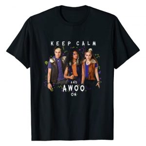 Disney Graphic Tshirt 1 Channel Zombies 2 Keep Calm and Awoo On T-Shirt