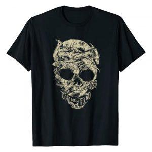 Disney Graphic Tshirt 1 Pirates Shark Skull T-Shirt