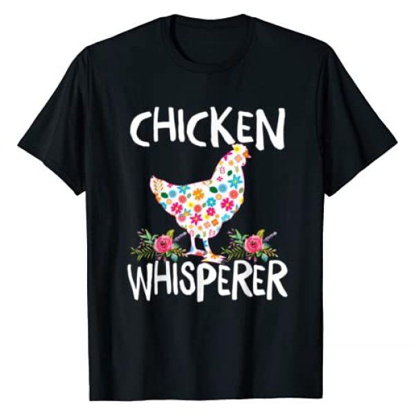 Funny Chicken Whisperer T Shirt Farmer Gift Tee Graphic Tshirt 1 Chicken Whisperer T shirt Funny Chicken Tee for farmers T-Shirt