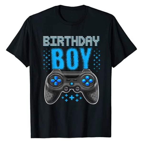 Birthday Gamer Shirts Graphic Tshirt 1 Birthday Boy Video Game Controller Birthday Gamer Gift Boys T-Shirt