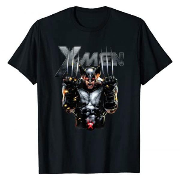 Marvel Graphic Tshirt 1 X-Men Wolverine Full Metal Razor Edge Graphic T-Shirt