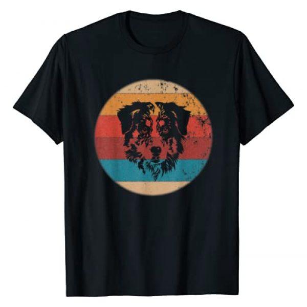 Retro Vintage 70s 80s Gift Shirts Graphic Tshirt 1 Australian Shepherd Tshirt - Vintage Retro Aussie Dog Gift