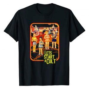"Emo / Goth / Grunge Clothing & Gifts Graphic Tshirt 1 ""Let's Start a Cult"" Goth/Grunge Clothing - Hail Satan T-Shirt"