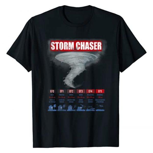 Storm Chaser Hurricane Chasing Tees Graphic Tshirt 1 Storm Chaser Hurricane Chasing Bad Weather T-Shirt