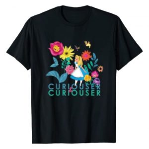 Disney Graphic Tshirt 1 Alice in Wonderland Curiouser & Curiouser T-Shirt