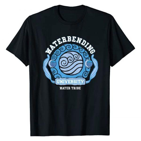 Avatar: The Last Airbender Graphic Tshirt 1 Water Bending University Logo Water Nation T-Shirt