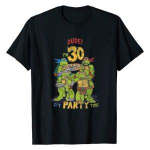Teenage Mutant Ninja Turtles Graphic Tshirt 1 30th Birthday Pizza Party T-Shirt
