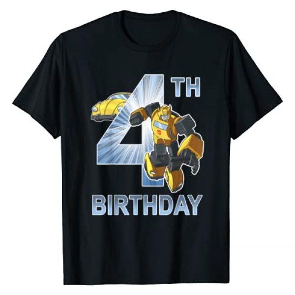 Transformers Graphic Tshirt 1 Bumblebee 4th Birthday T-Shirt