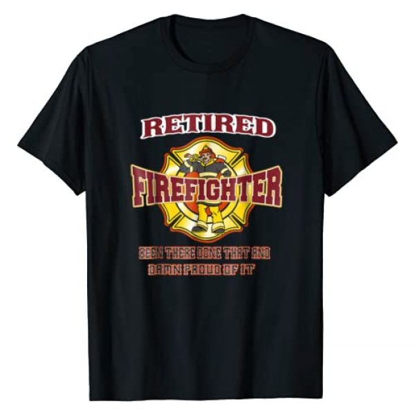 Unknown Graphic Tshirt 1 Retired Firefighter Gift For Fireman Fire Fighter T-shirt