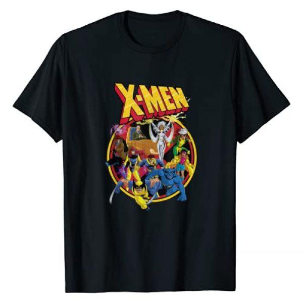 Marvel Graphic Tshirt 1 X-Men Animated Series Retro 90s T-Shirt