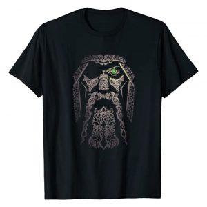 Viking Odin Valhalla Tees men women Graphic Tshirt 1 Odin Viking Tshirt | Gift Vikingcostume Odinism Raven Beard