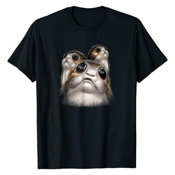 Star Wars Graphic Tshirt 1 Last Jedi Porgs Big Eyes Cute Graphic T-Shirt