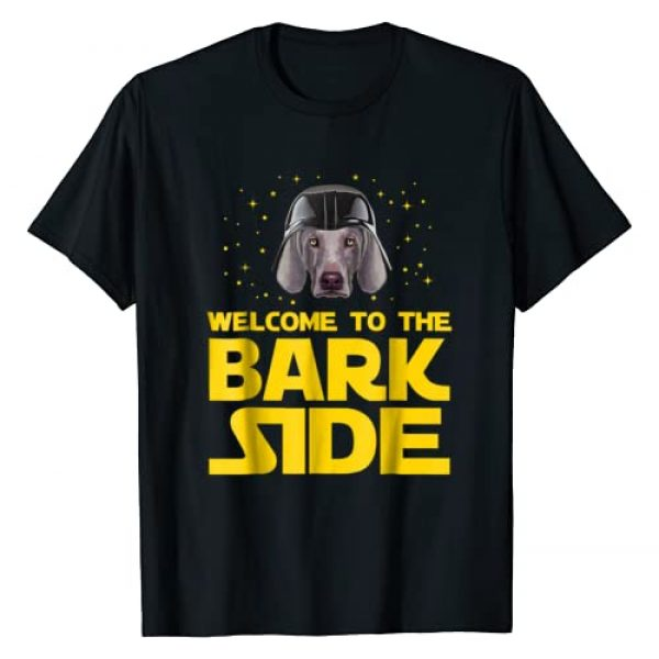 Weimaraner Dogs Lovers Funny T-shirt Graphic Tshirt 1 Welcome to the Bark Side of Weimaraner Funny T shirt Gifts