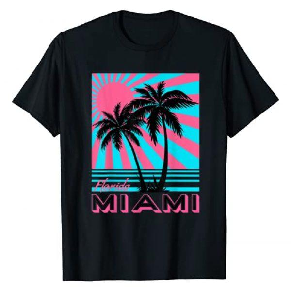 Miami Beach TShirts Florida Miami Palm Trees Tees Graphic Tshirt 1 Miami Beach TShirt Florida Miami Palm Trees T-shirt T-Shirt