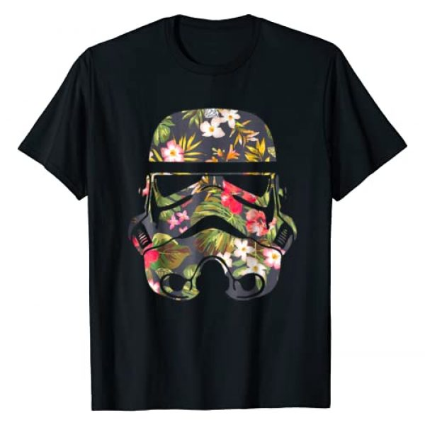 Star Wars Graphic Tshirt 1 Tropical Stormtrooper Floral Print Graphic T-Shirt