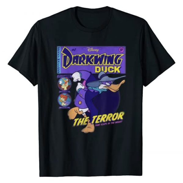 Disney Graphic Tshirt 1 Darkwing Duck Comic Cover T-Shirt
