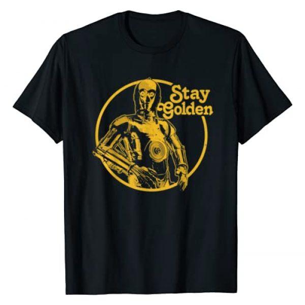 Star Wars Graphic Tshirt 1 C-3PO Stay Golden T-Shirt