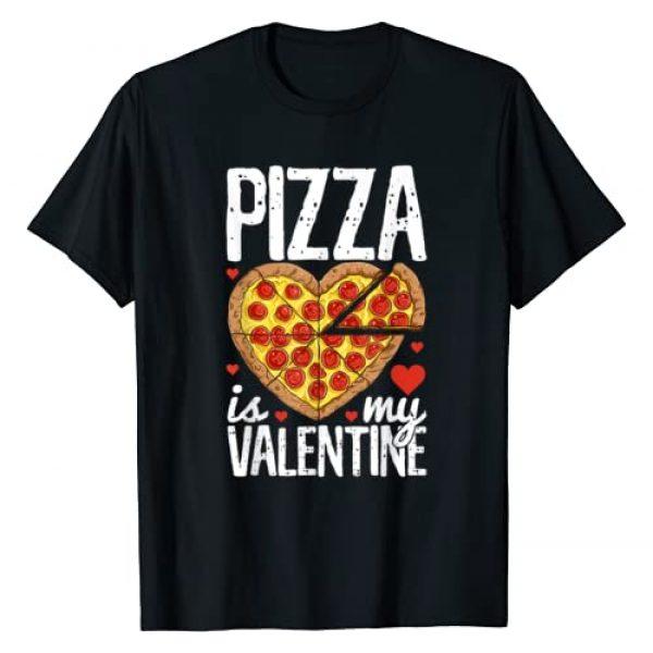 Puntastic Valentines Day Graphic Tshirt 1 Pizza Is My Valentine Funny Valentines Day Gifts Boys Kids T-Shirt