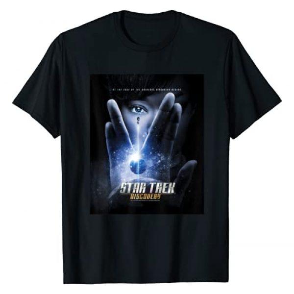 STAR TREK Graphic Tshirt 1 Discovery Michael Salute Poster T-Shirt