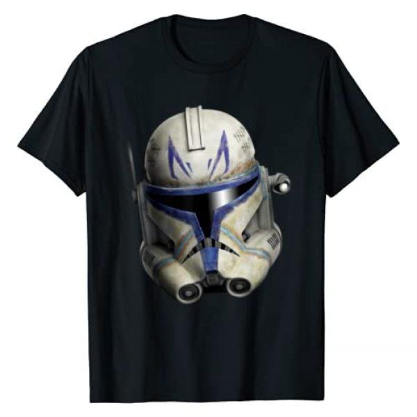 Star Wars Graphic Tshirt 1 The Clone Wars Clone Captain Rex Big Face T-Shirt