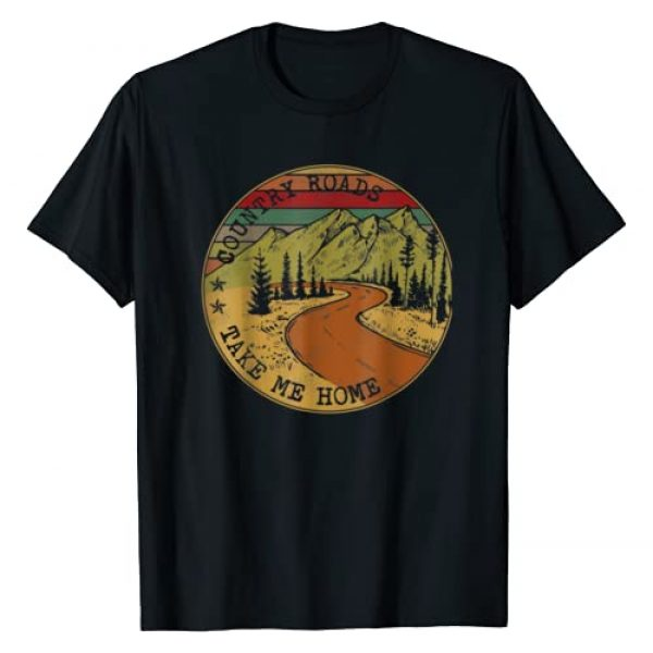 Country Roads Take Me Home Farmer Graphic Tshirt 1 Country Roads Take Me Home Farmer T-Shirt