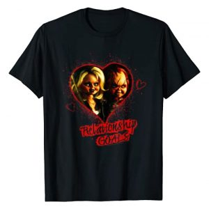 Unknown Graphic Tshirt 1 Child's Play Chucky And Tiffany Relationship Goals T-Shirt