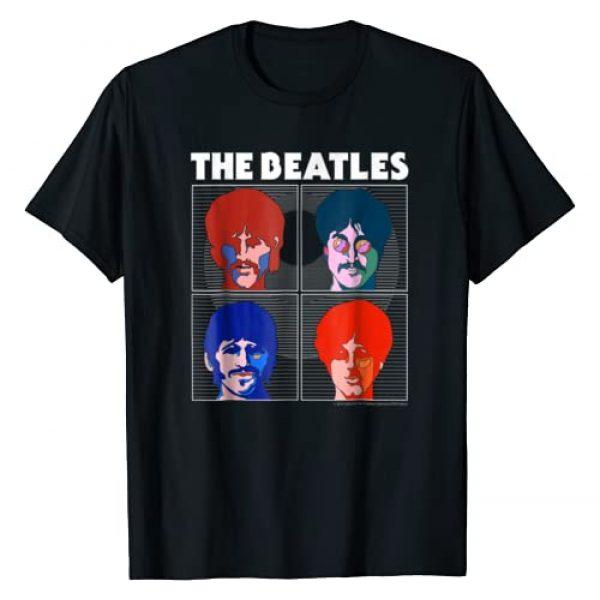 The Beatles Graphic Tshirt 1 Yellow Submarine Boxes T-shirt