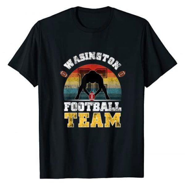 Washington team of football vintage Apparel gifts Graphic Tshirt 1 Washington Football Team DC Sports Novelty Retro Vintage T-Shirt