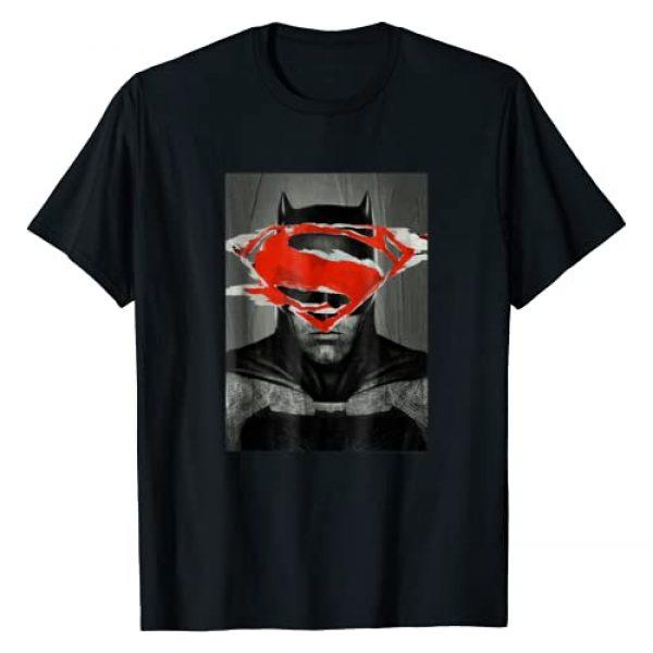 DC Comics Graphic Tshirt 1 Batman v Superman Batman Poster T Shirt