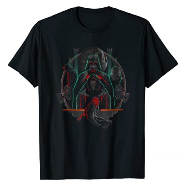 Star Wars Graphic Tshirt 1 Group Shot Sith Lords Poster T-Shirt