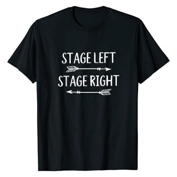 My Heart is on That Stage Actress Shirts & Gifts Graphic Tshirt 1 Stage Theater Gifts for Actors Broadway Musical and Theatre T-Shirt