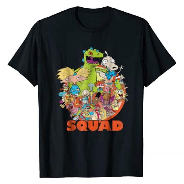 Nickelodeon Graphic Tshirt 1 90's Nicktoons Squad Graphic T-Shirt