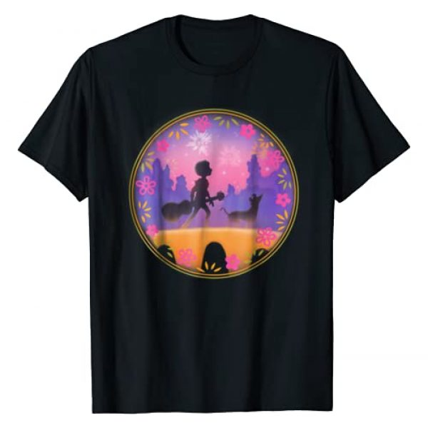 Disney Graphic Tshirt 1 Pixar Coco Miguel Dante Bridge Fireworks T-Shirt
