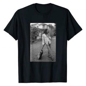 Bob Marley Graphic Tshirt 1 x David Burnett Black & White Guitar Photo T-Shirt