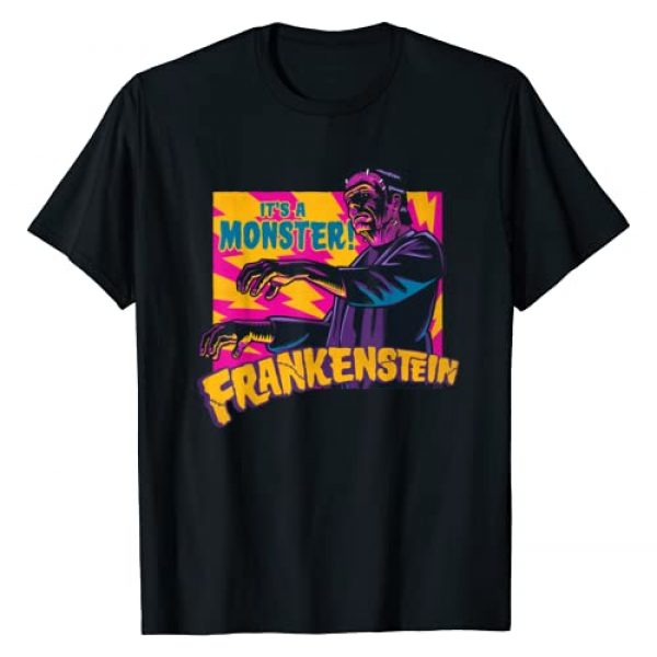Universal Monsters Graphic Tshirt 1 It's A Monster! Frankenstein T-Shirt