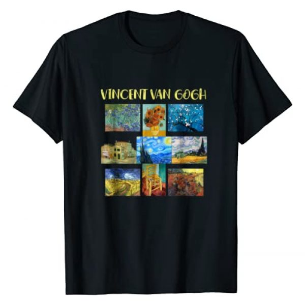 Vincent Van Let It Gogh Designs Graphic Tshirt 1 Vincent Van Gogh Masterpiece Art Gift Apparel