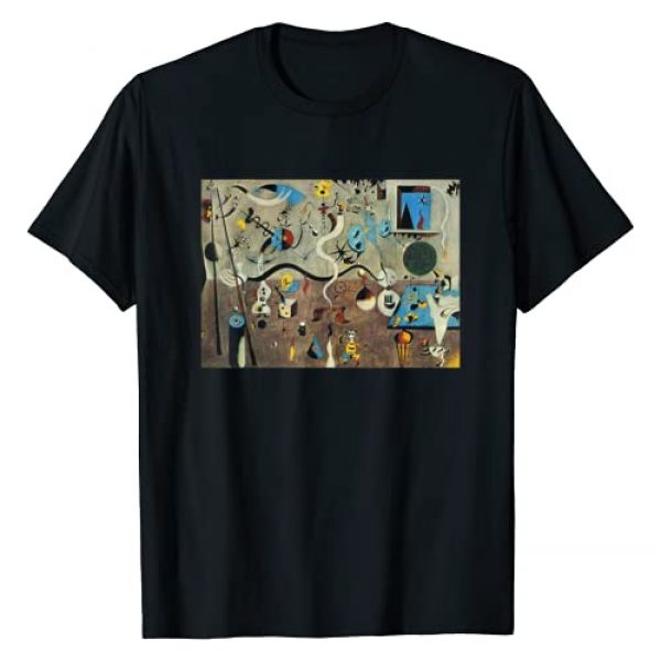 Great Famous Painting & Famous Painter Collection Graphic Tshirt 1 The Harlequin's Carnival Famous Painting By Miro T-Shirt
