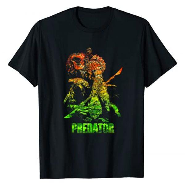 20th Century Fox Movies Graphic Tshirt 1 Predator Camo Predator T-Shirt