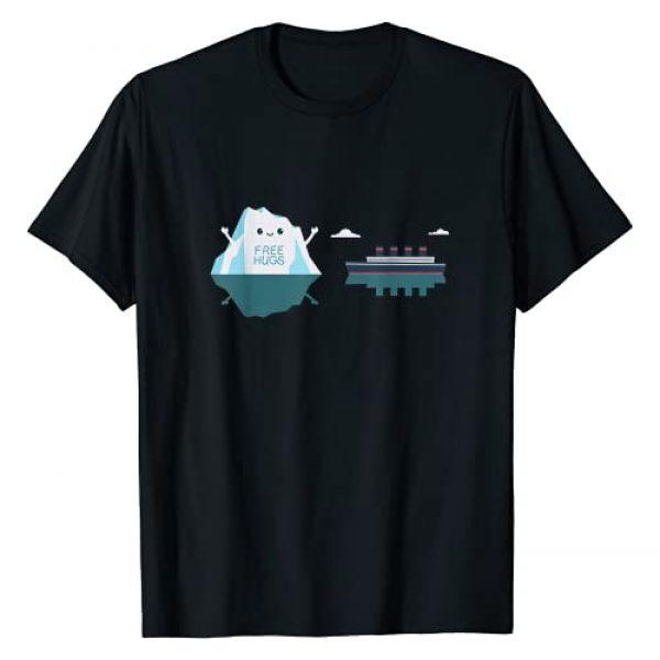 History Iceberg Cruise Vessel Designs Graphic Tshirt 1 Retro Funny Titanic Cruise Ship Iceberg 1912 Cruise Vessel T-Shirt