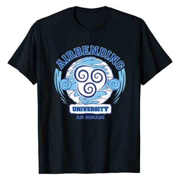Avatar: The Last Airbender Graphic Tshirt 1 Air Bending University Logo Air Nomads T-Shirt