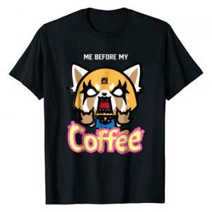 Aggretsuko Graphic Tshirt 1 I Need My Coffee Rage Tee Shirt