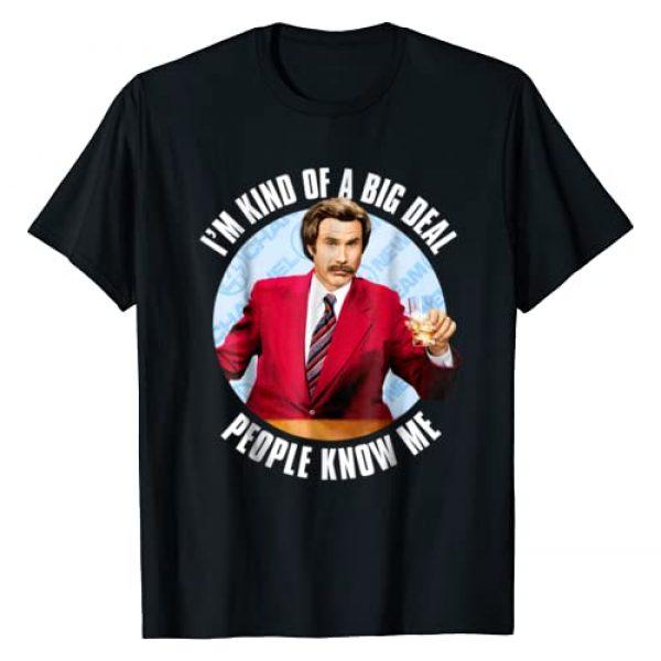 Anchorman Graphic Tshirt 1 Ron Burgundy I'm Kind of a Big Deal T-Shirt